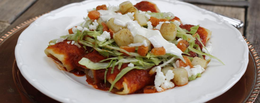enchiladas rojas a mexican cook